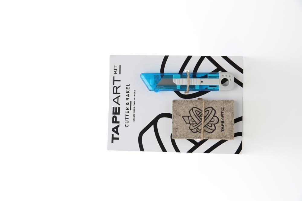 Tape Art Kit Messer+ Filzrakel