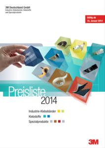 3M Preisliste 2014 Industrie Klebeband Klebeland