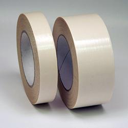 Doppelseitiges Gewebeklebeband, weiß, 50mm x 25m