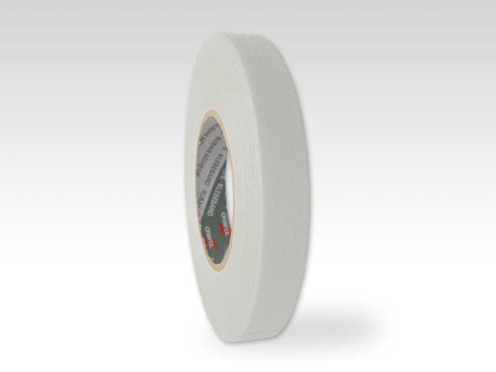 Oraband, Zellwollgewebeband, weiß, 19mm x 50m