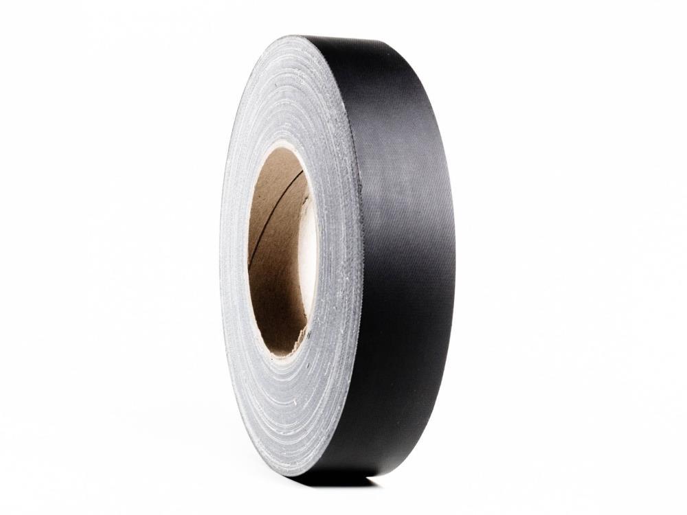 KLG770 Gewebeband, matt schwarz, 19mm x 50m