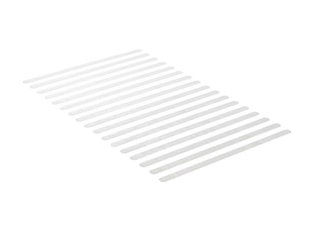 Anti-Rutsch-Streifen indoor 17 Stück 3 cm x 64 cm