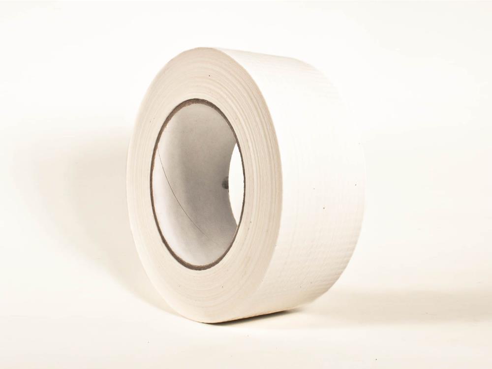 Allzweck Gewebeband, weiß, 50mm x 50m