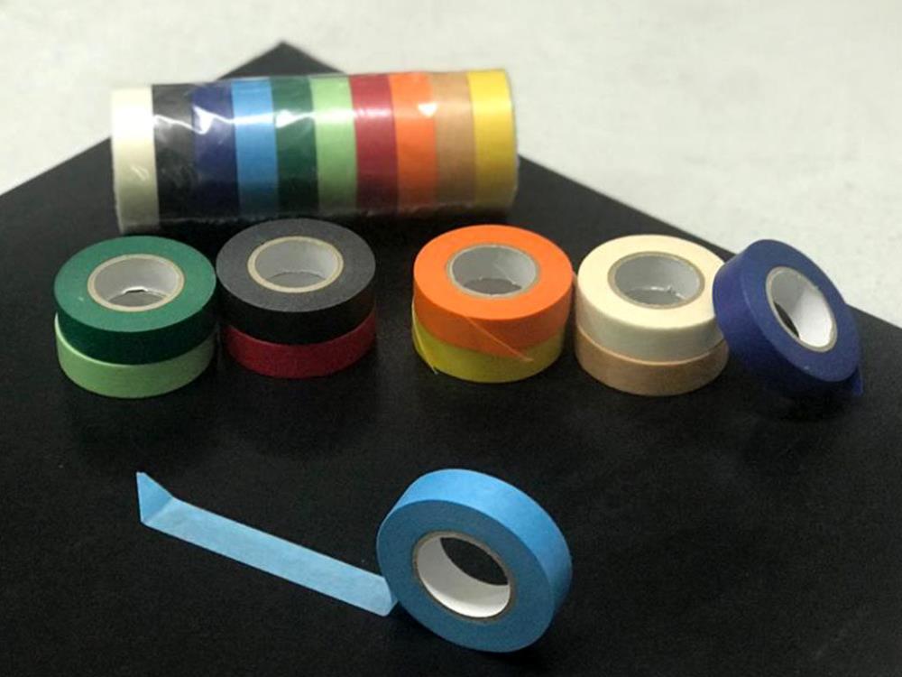 Rainbow , Paper Tape Set. 10x Rollen 15mm x 18m