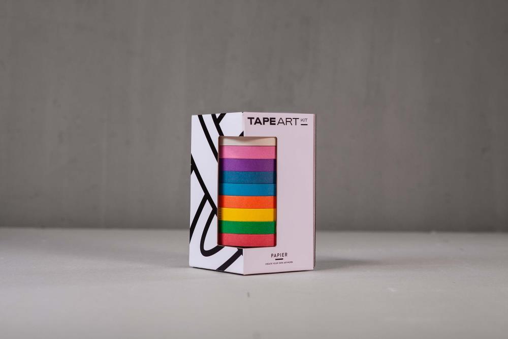 Tape Art Kit Papier Rainbow