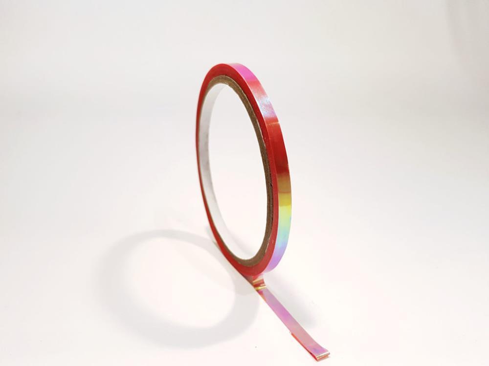 Mirror Tape, rot, 5mm x 25m