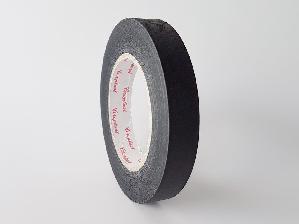 C800 Gewebeband, schwarz, 19mm x 25m