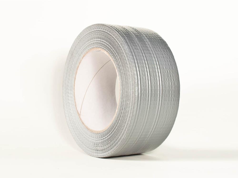 Allzweck Gewebeband, silber/grau, 50mm x 50m