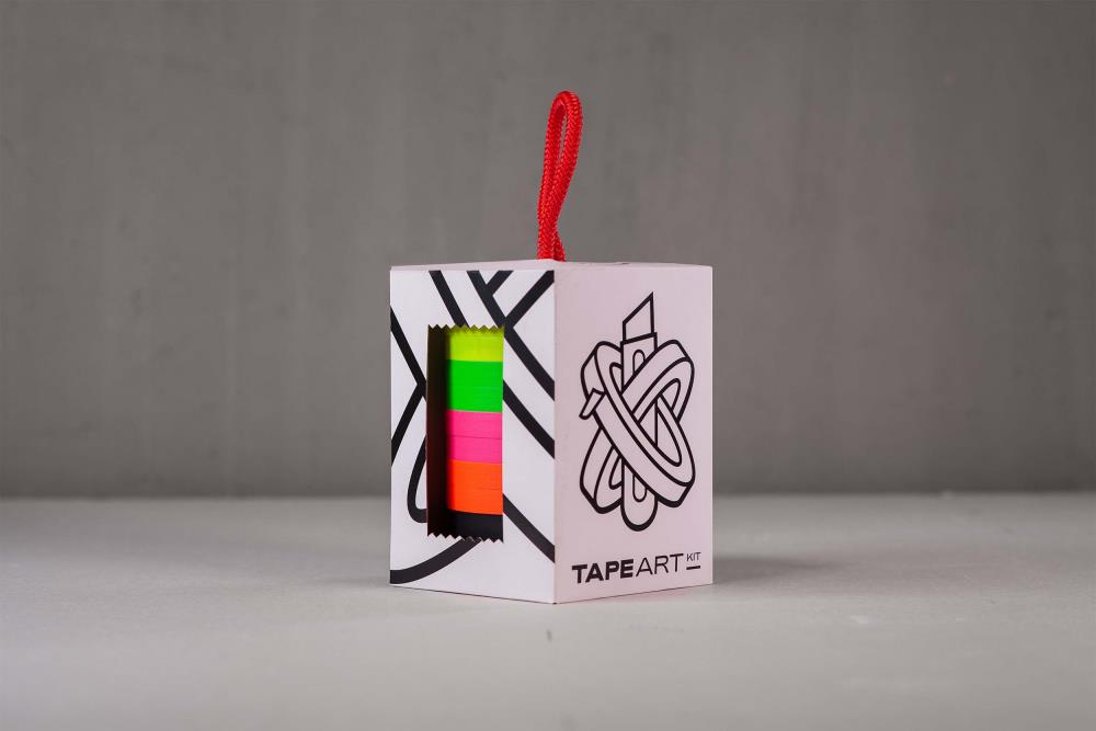 Tape Art Kit Gaffa Neon