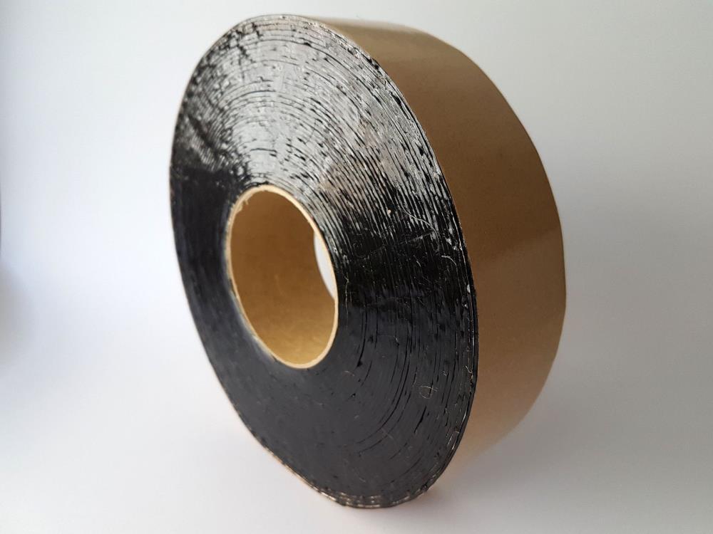 Bitumenband, 50mm x 15m, schwarz