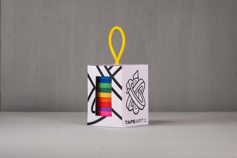 Tape Art Kit Gaffa Rainbow