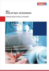 Tesa Papier Druckindustrie Katalog